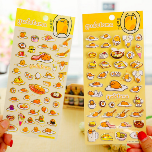 Gudetama Sticker Sheet