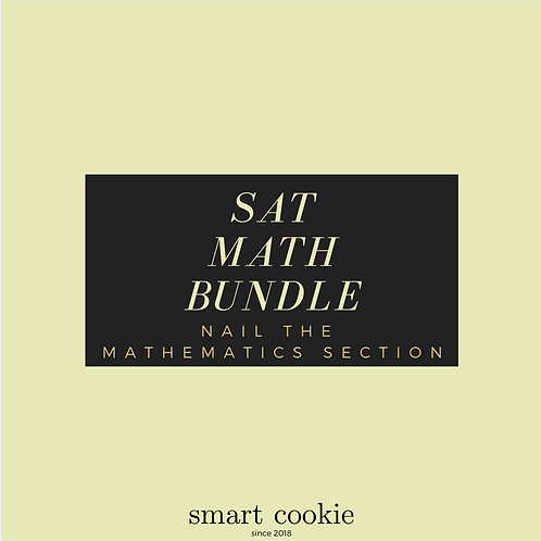 SAT Math Bundle