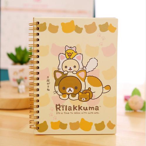 Rilakkuma Spiral Notebook