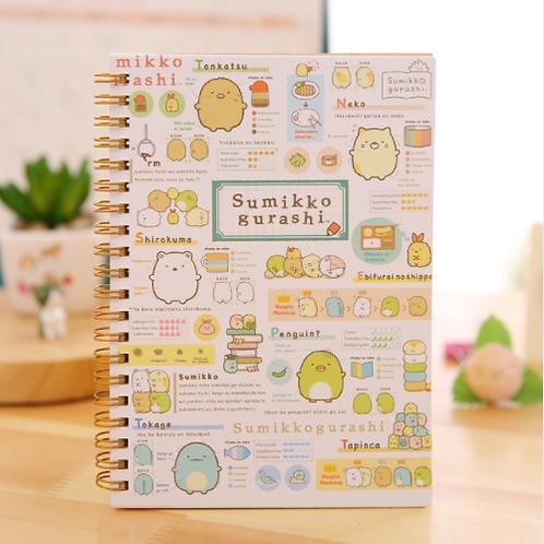 Sumikko Gurashi Spiral Notebook