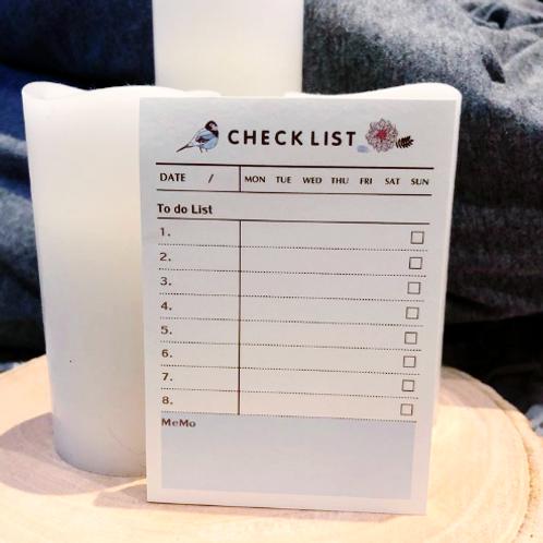 Checklist Notepad