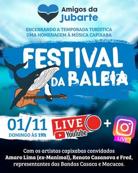 Edição Especial Festival da Baleia 2020 - Uma homenagem a música capixaba