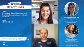 Jubarte.LIVE: A Pandemia dos Oceanos: impactos de bactérias, fungos e vírus nos animais marinhos