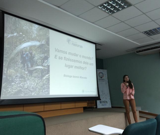 Engajando futuros profissionais: palestra convida alunos a conhecerem práticas de preservação