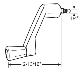 Short Handle for Velux Operators