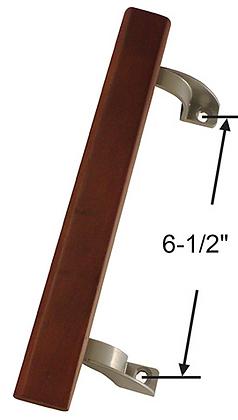 Wood Patio Door Handle