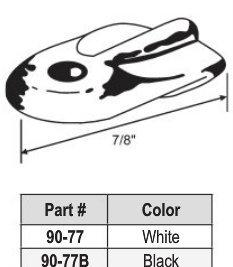 Flat Nylon Wing Clip