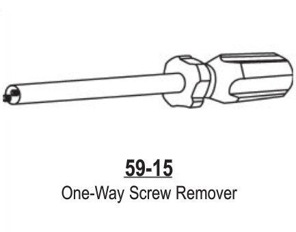 One-Way Screw Remover