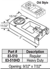 83 Series Balance Pivot Lock Shoe