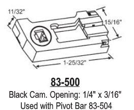 Pivot Lock Shoe for 83 Series Balance