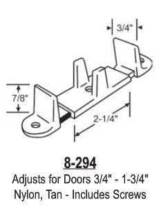 Wood Closet Door Floor Guide