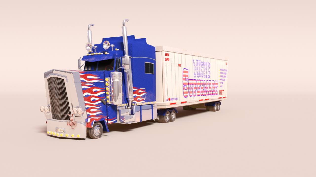 Mich Supermart Truck