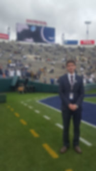 On the Rose Bowl field