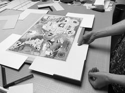 Yunel I Life Map I Tailored Framing