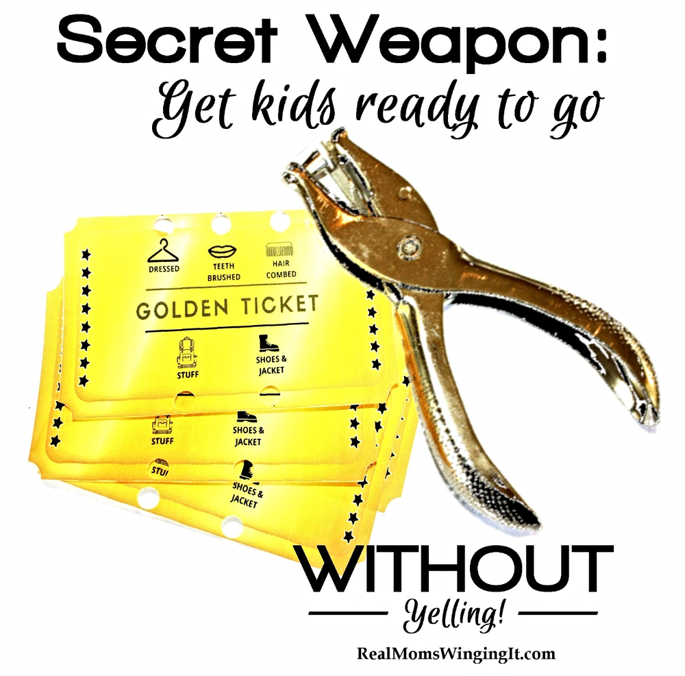 Secret Weapon Get Kids Ready to Go Without Yelling