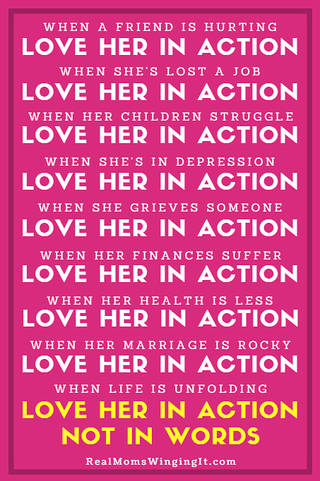 Love in Action Not Words Manifesto
