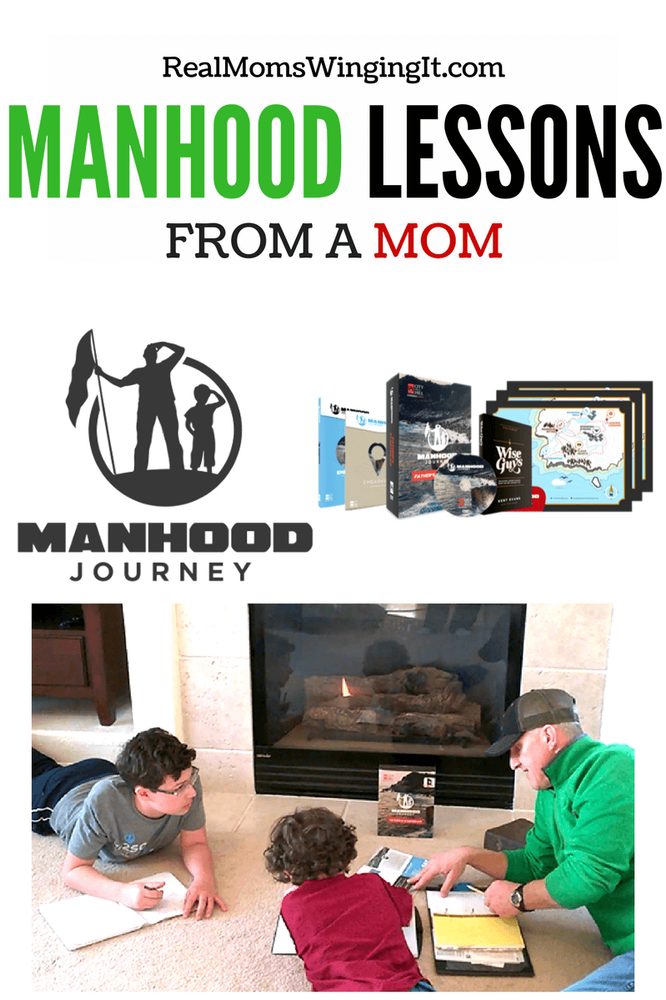 Manhood Journey Father Son Lessons from a Mom