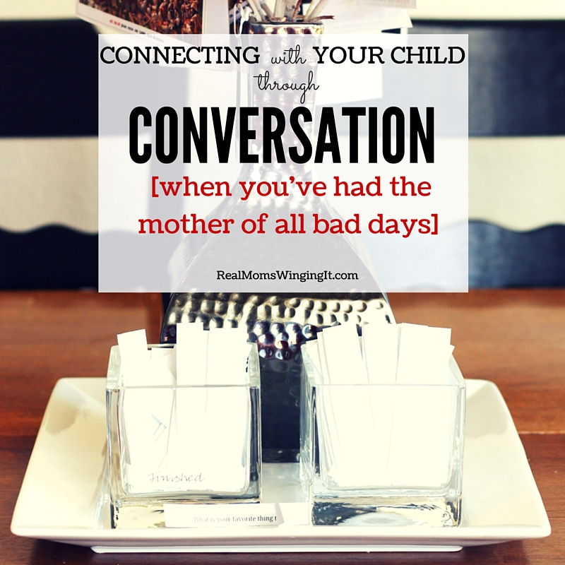 connecting with your child through conversation conversation strips