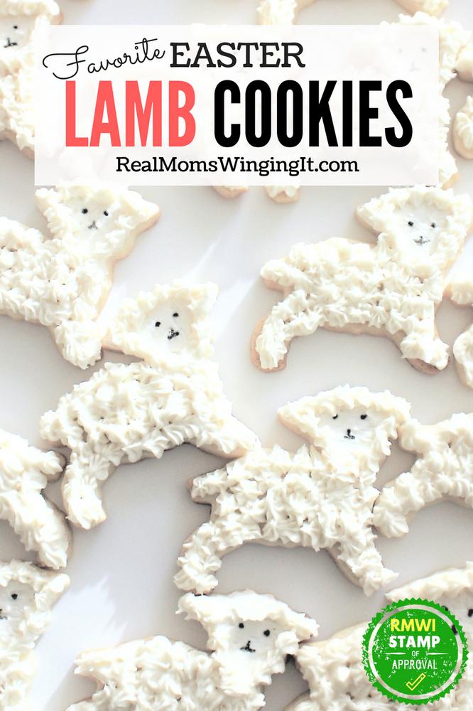Favorite easter Lamb Sugar Cookies