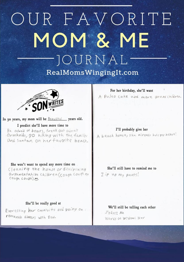 Mom And Son Journal Parenting Connecting With Your Child