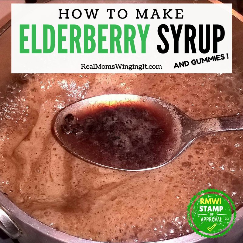 How To Make Elderberry Syrup and Gummies