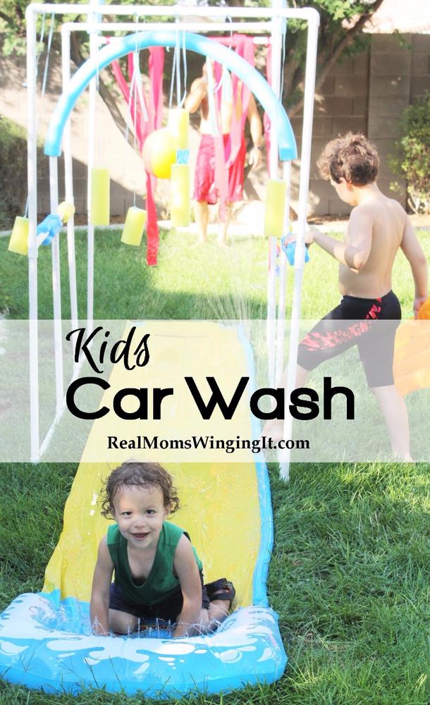 Summer Kids Car Wash