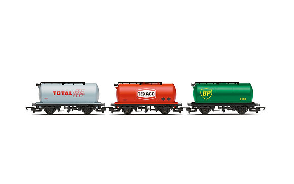 Hornby 3 x Fuel Tanker Pack - R6891