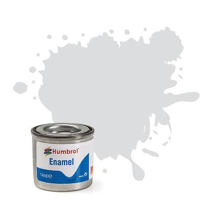 Humbrol Enamel No 196 Light Grey Satin