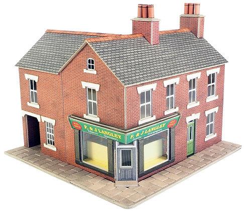 Metcalfe Red Brick Corner Shop