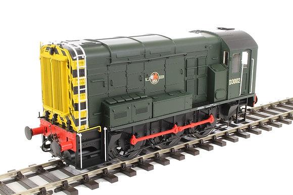 Dapol Class 08 D3002 BR Green Late Crest