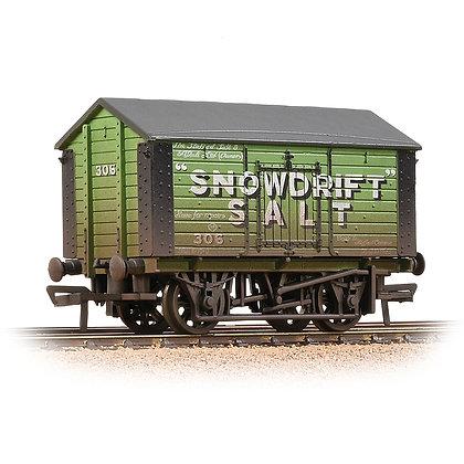 Bachmann OO 10T Covered Salt Wagon Snowdrift Salt - 33-182A