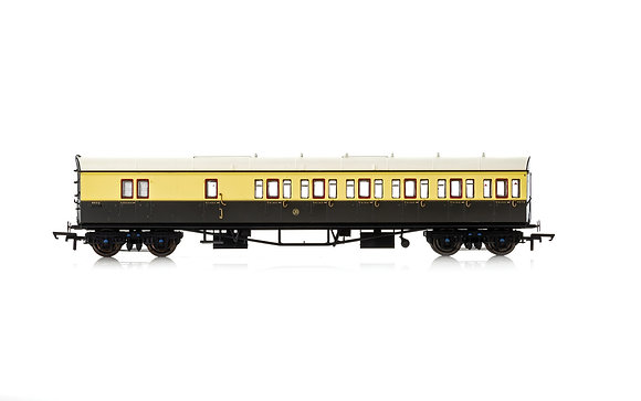 Hornby GWR Collett 57 Suburban Brake 3rd RH 4972 - R4877