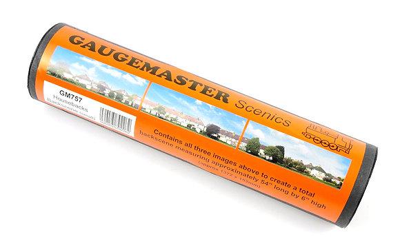 Gaugemaster Housebacks Small Photo Backscene - GM757