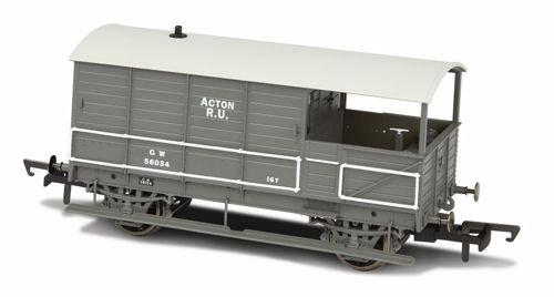 Oxford Rail GWR Plated Acton Brake Van - OR76TOB002