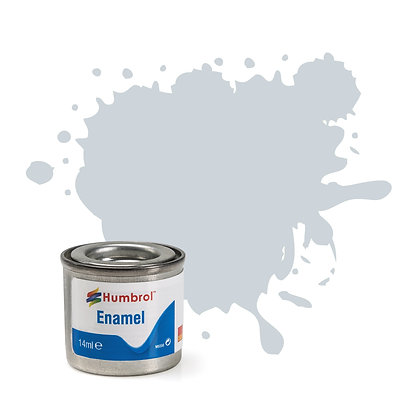Humbrol Enamel No 27001 Aluminium Metalcote