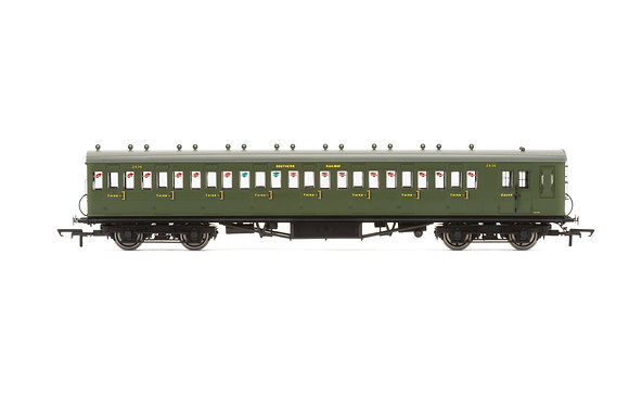 Hornby SR 58Maunsell Ex-LSWR Non- Corridor Brake 3rd Coach2636 - R4717A