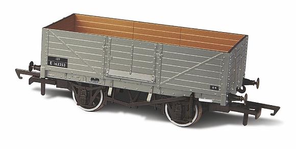 Oxford Rail 6 Plank Wagon BR - 76MW6002B