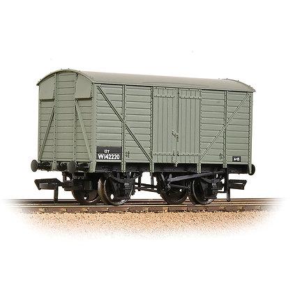 Bachmann OO GWR 12T Ventilated Van BR Grey - 37-731B