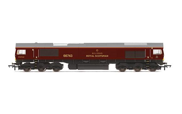 Hornby GBRF Belmond Royal Scotsman Class 66 - R3950