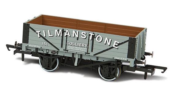 Oxford Rail 5 Plank Tilmanstone Colliery Wagon - OR76MW5006
