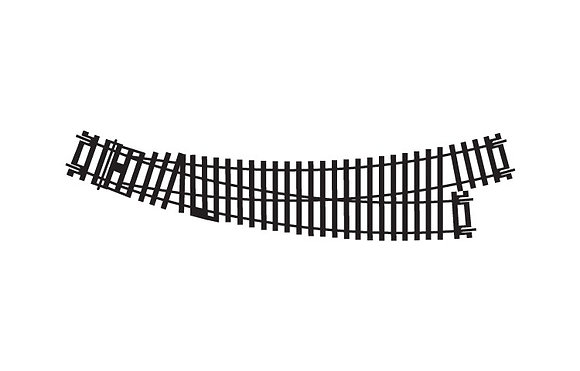 Hornby Left-Hand Curved Point - R8074