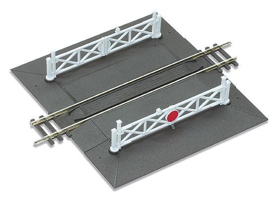 Peco OO ST-268 Straight Level Crossing Unit
