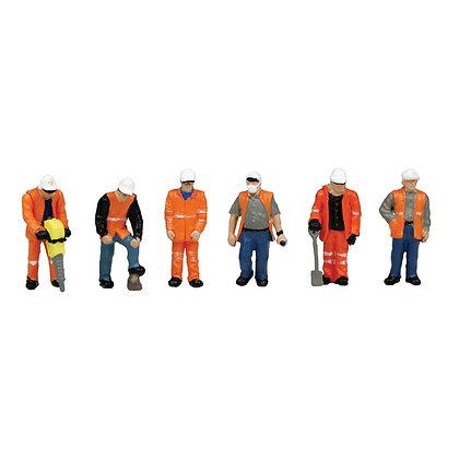 Bachmann OO Trackside Workers - 36-049