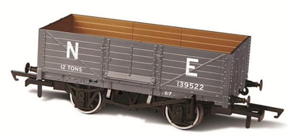 Oxford Rail 6 Plank LNER Wagon - 76MW6001B