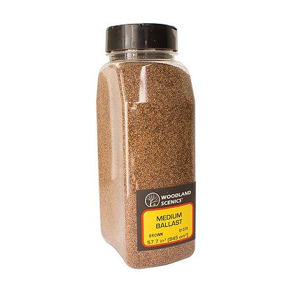 Woodland Scenics Medium Ballast Brown - B1379