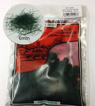 Javis Static Grass NO.8 Green 6mm