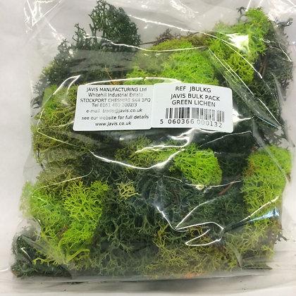 Javis Bulk Pack Green Lichen