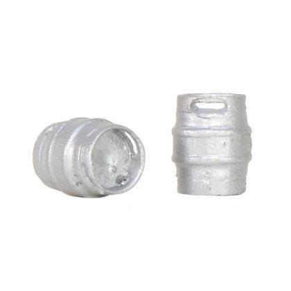 Bachmann OO Metal Beer Kegs x 10 - 44-520