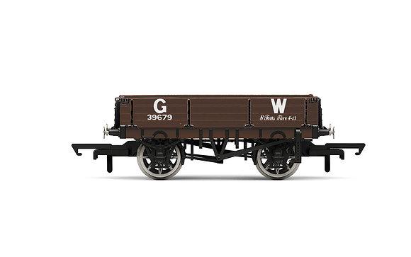 Hornby GWR 3 Plank Wagon 39679 - R6943
