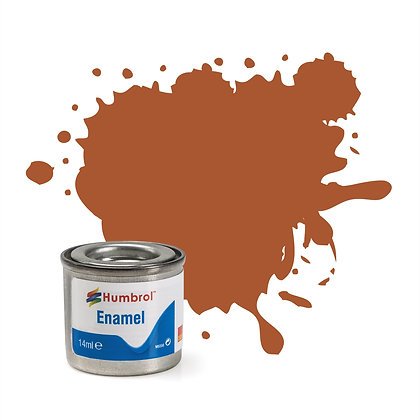 Humbrol Enamel No 62 Leather Matt